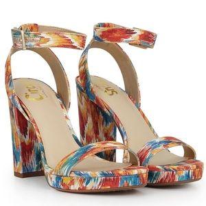 Sam Edelman Multi Spring Platform Ankle Sandal